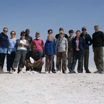 Our Group On Etosha Pan