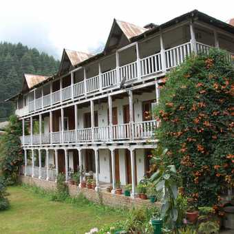 Our hotel in Manali
