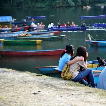 Pokhara lake friends