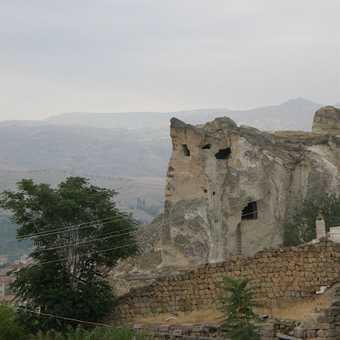 Rock formations in Cappodocia