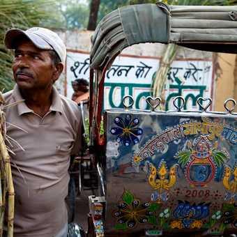 Sikh at temple, Delhi