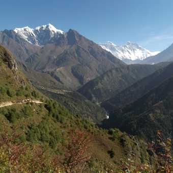 Himalayan path.