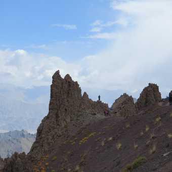trekking to Mankarmo