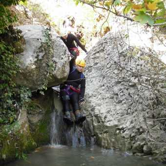 Canyoning - Absailing, Tom