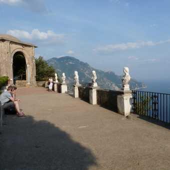 Ravello - view from Villa Cimbrone