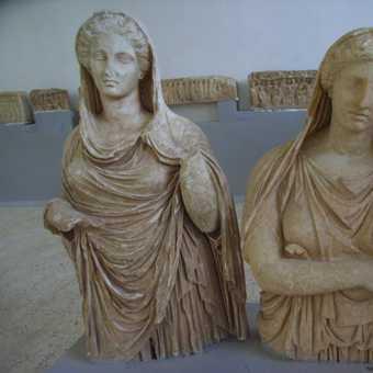 Stauary at Cyrene