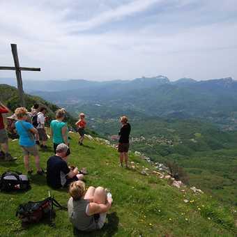 Summit of Pania de Corfino