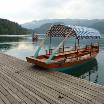 Day 7 - Pleasure boat on Lake Bled