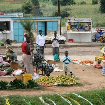 village market Uganda