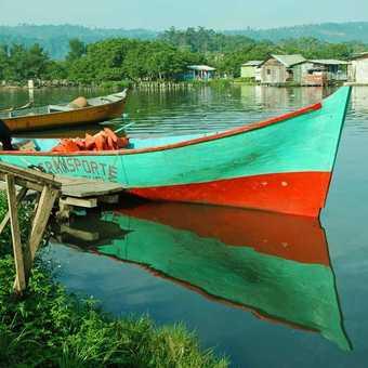 Boat at Almirante Panama