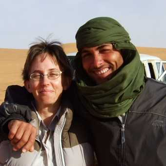 Omran and Me in the desert