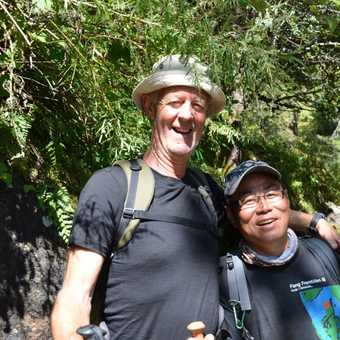 George and one of our assistant guide RB