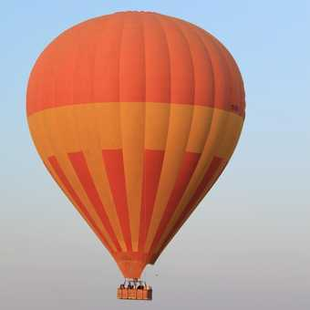 Ballooning over the Mara