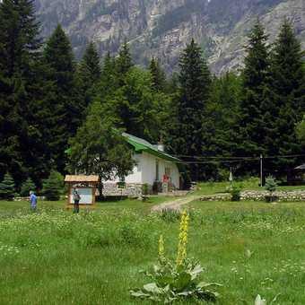 Rila peaks from picnic site
