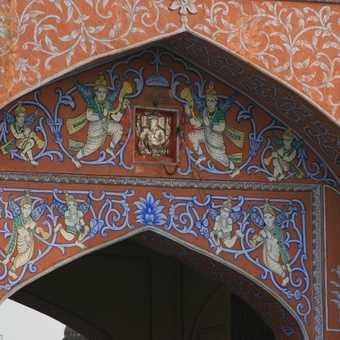 City gate detail, Jaipur