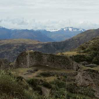 Day 1 - lunch stop at Wata Inca Ruins