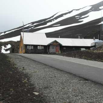Teski refuge on Volcan Orsono