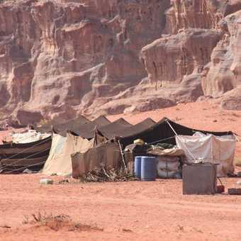 Bedouin camp  Wadi Rum