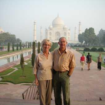 D & C at Taj Mahal