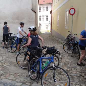 Cycling across the 15th Meridian
