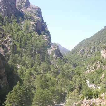 Eastern Med views from Col de Verde