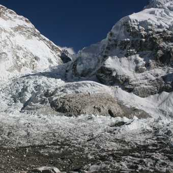 Base Camp and Khumbu Ice Fall