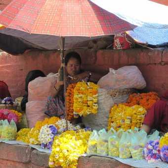 The colours of Kathmandu
