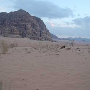 Wadi Rum at dusk 2