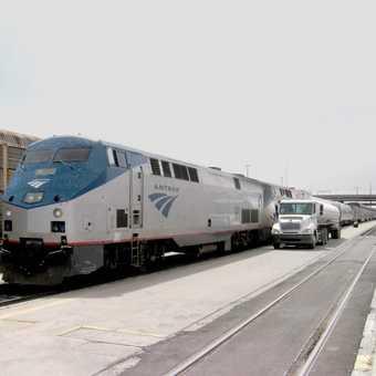 Amtak train from LA to DC