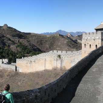 The wall snaking into the distance, Jinshanling