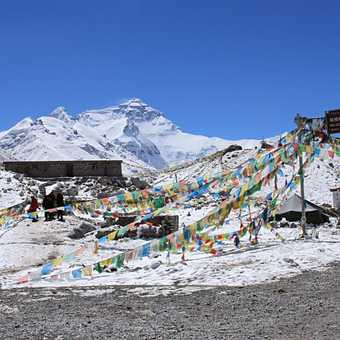 The group at Everest basecamp