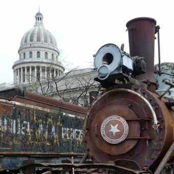 Take a train to the capital