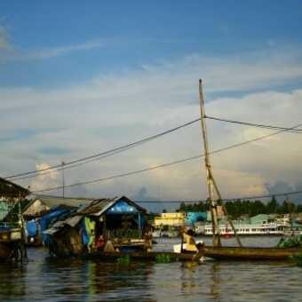 Floating Village, Chau Doc, Vietnam