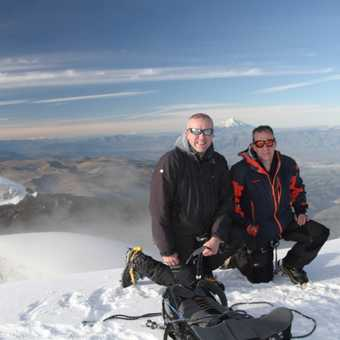 John Lynas and Steve Marriott on Summit