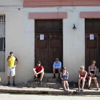 Loitering with intent in Camaguey.