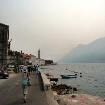 Walking to Perast