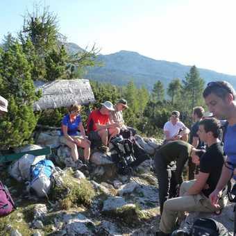 Day 3 - Rest break on the way to Koca pri Triglavskih jererih (Hut)