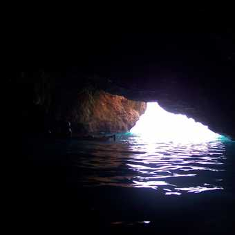Inside the Blue Cave
