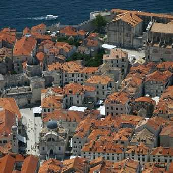 Dubrovnik... taken from one of the best spots I've ever had lunch