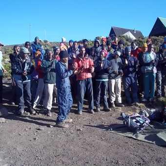 everyone sang us the 'Kilimanjaro song'