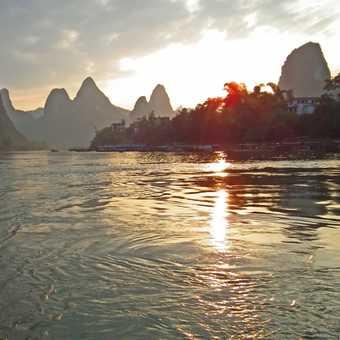 boat trip on Li River