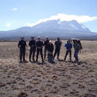 Kilimanjaro in all its Glory from Shira plateau