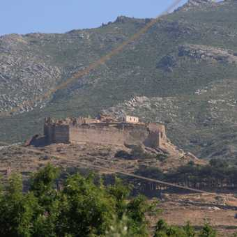 Castello Rosso from Karystos