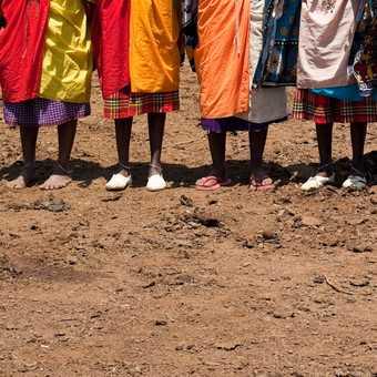 Young Warriors, Masai village