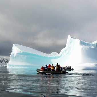 Exploring an ice berg