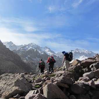 Trekking from Aroumd to Neltner Refuge