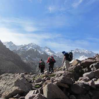Trekking from Aroumd to Neltner Refuge
