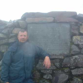 Top of Scaffel Pike