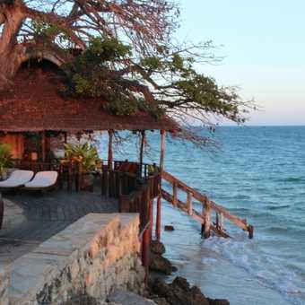 Sunset at Fumba Lodge, Zanzibar
