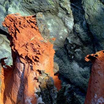 Volcanic Rock Formations  Ponte de Sao Lourenco Walk